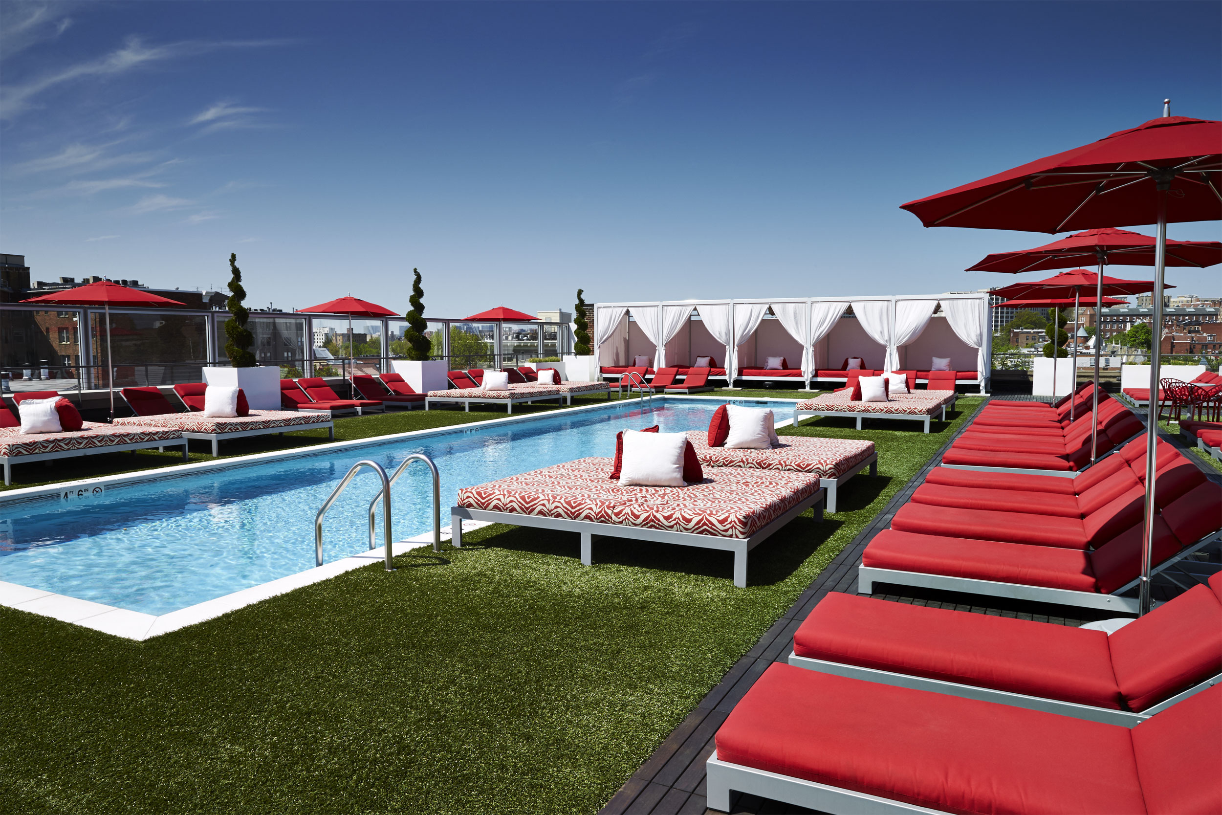 Sundeck at The Penthouse Pool Club hosts District Bliss Networking Social in DC