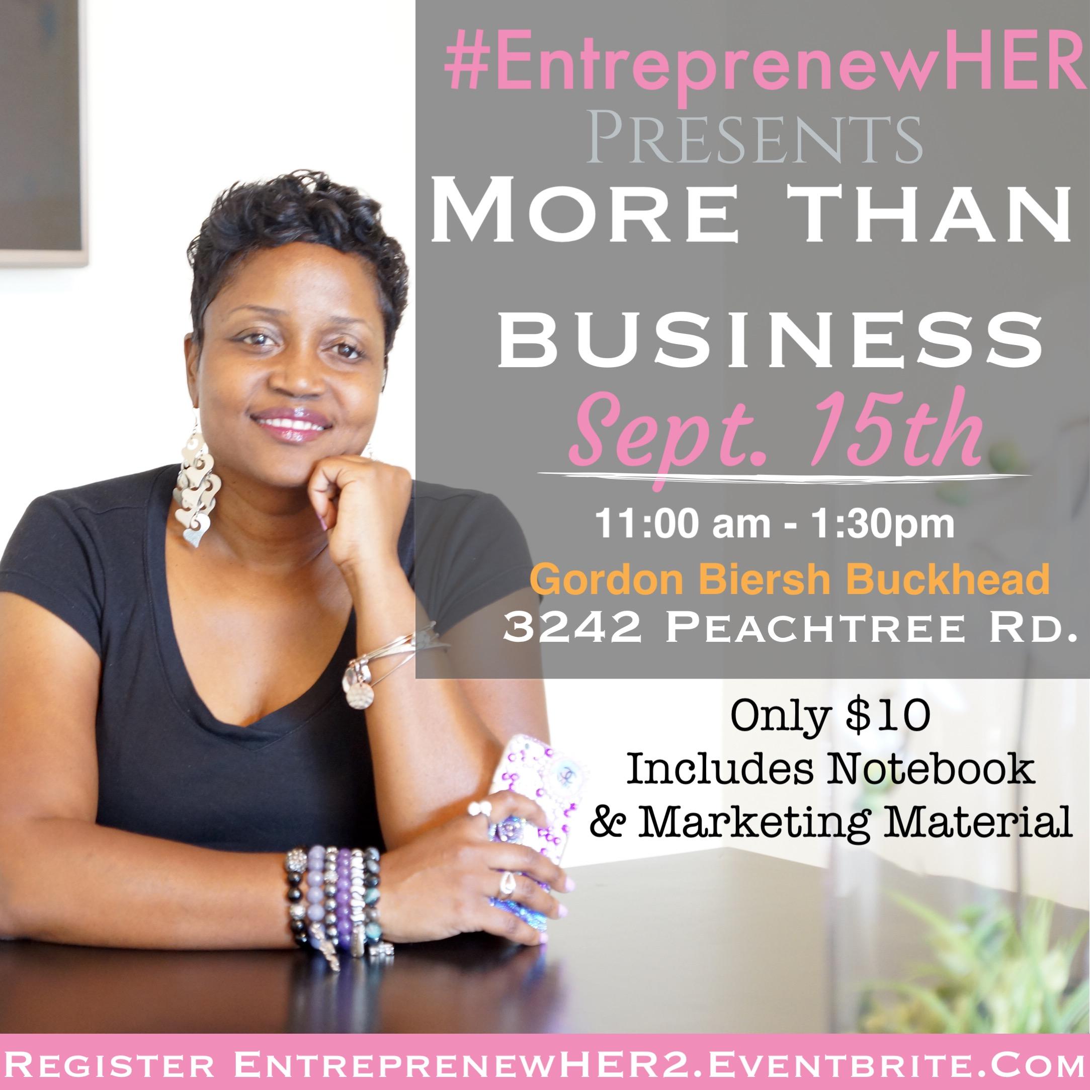 EntreprenewHER Shan Thomas
