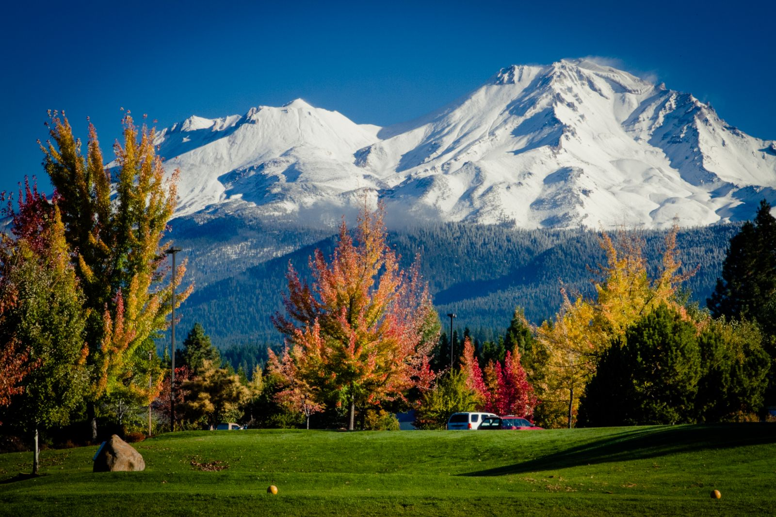 Mount Shasta view from Resort