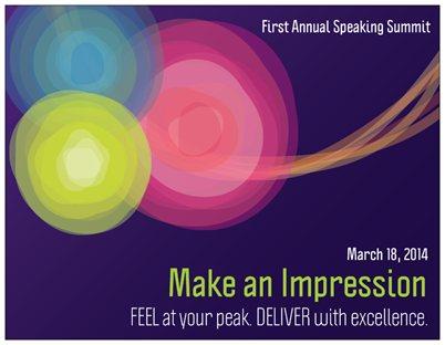 First Annual Speaking Summit