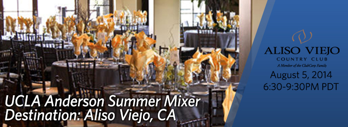 UCLA Anderson Summer Mixers
