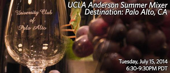 UCLA Anderson Summer Mixers