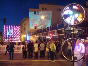 Exciting art installations light up downtown Oakland