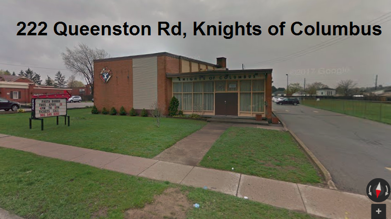 222 Queenston Rd Knights of columbus