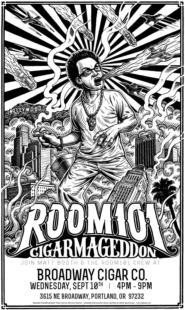 Room 101 Cigarmageddon