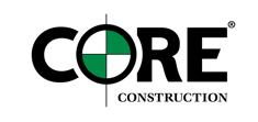 core construction logo screen shot white background
