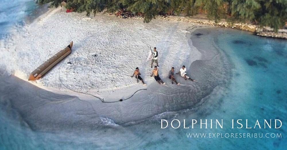 pulau dolphin kepulauan seribu utara