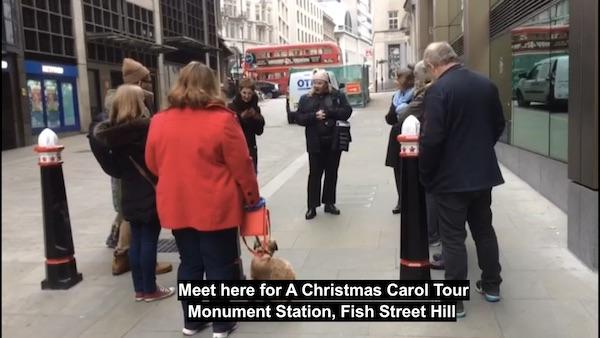 A Christmas Carol Tour