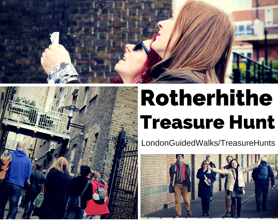 Rotherhithe London Treasure Hunt