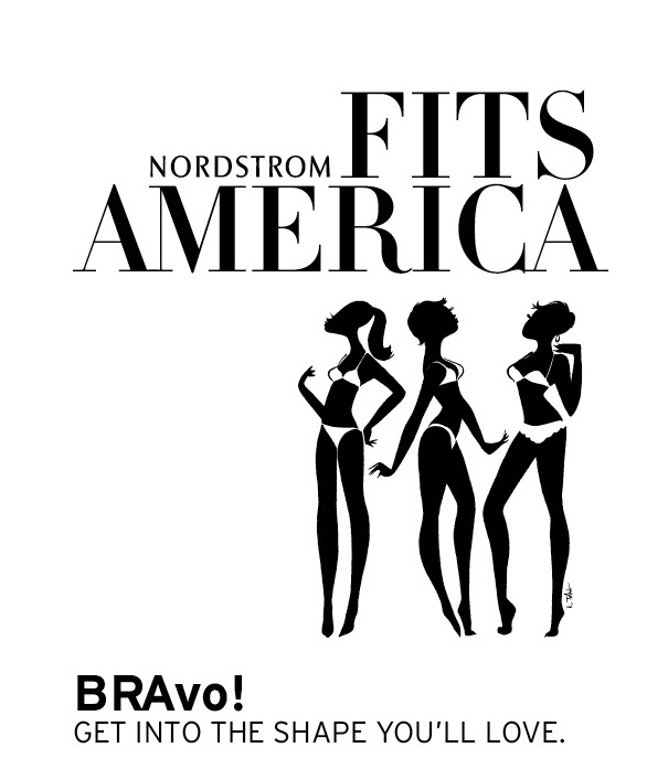 Nordstrom FITS America bra fitting event to support breast cancer!