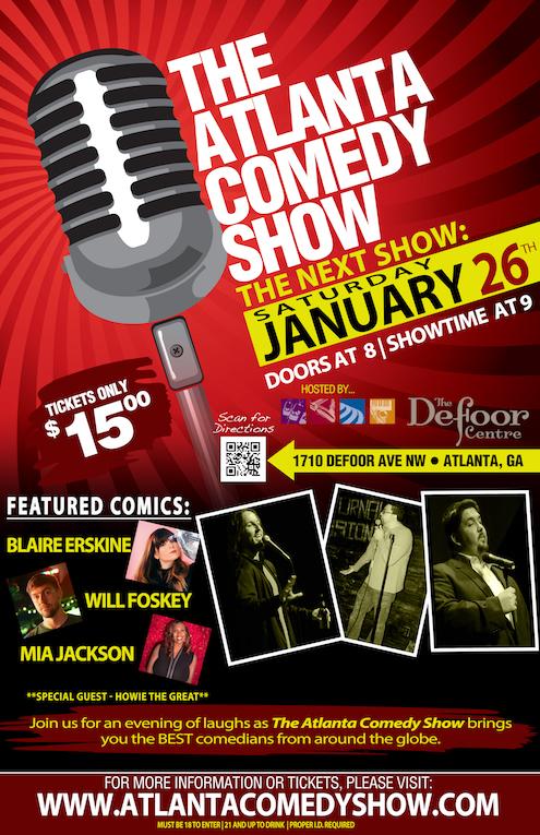 The Atlanta Comedy Show - January 26th