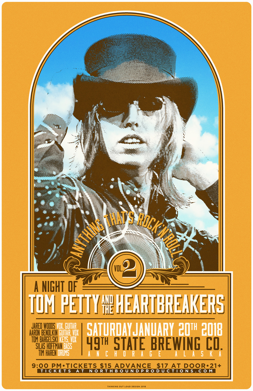 Anything That's Rock N Roll VOL 2: A Night of TOM PETTY & The Heartbreakers