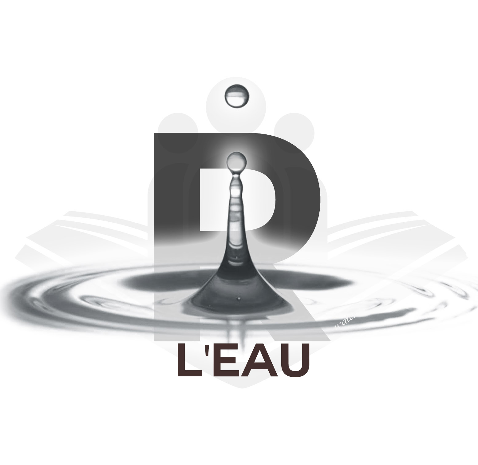 The Robottom Foundation L'eau logo