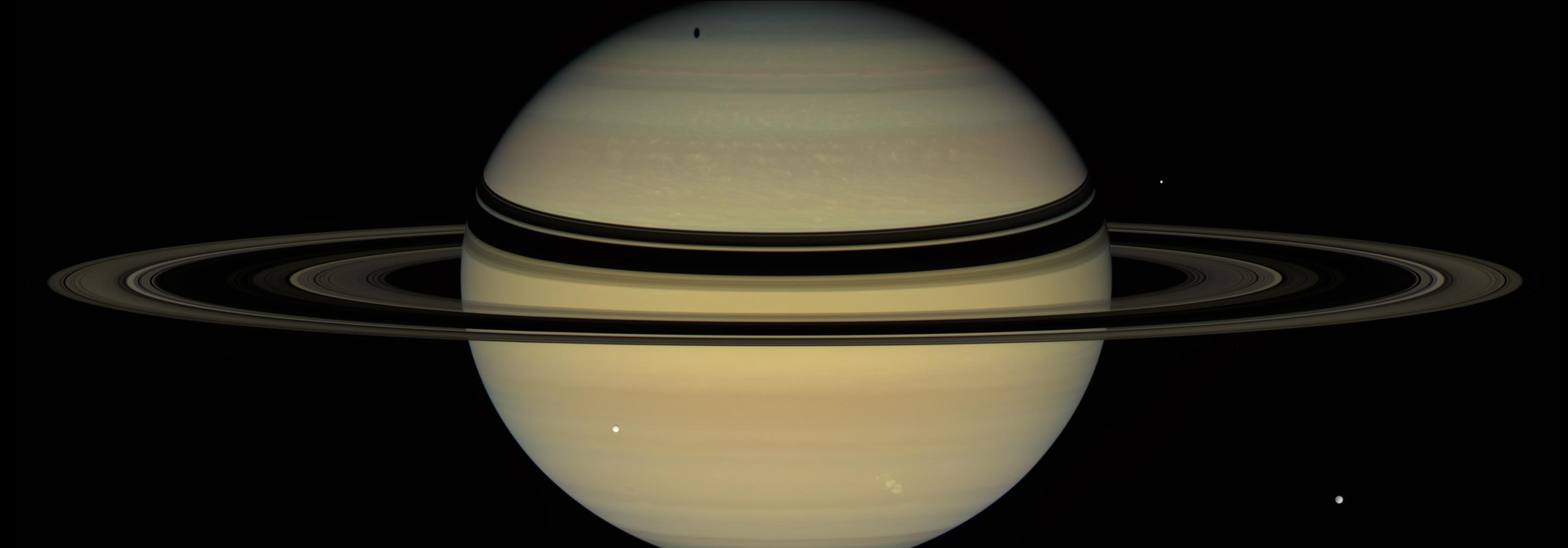 Saturn - A Stage for Shadows