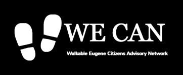 Walkable Eugene Citizen Advisory Network logo