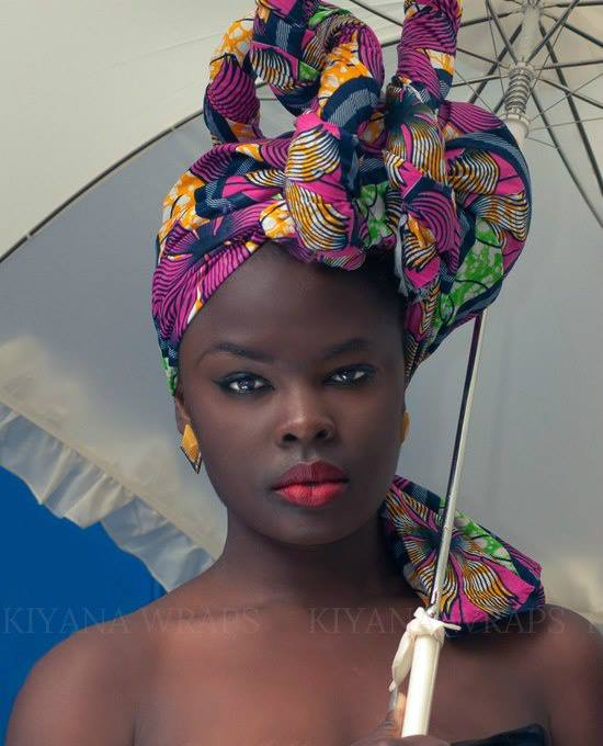 African Turban / Head wrap at Focus Africa 8th Year Anniversary - Saturday 1st December 2018