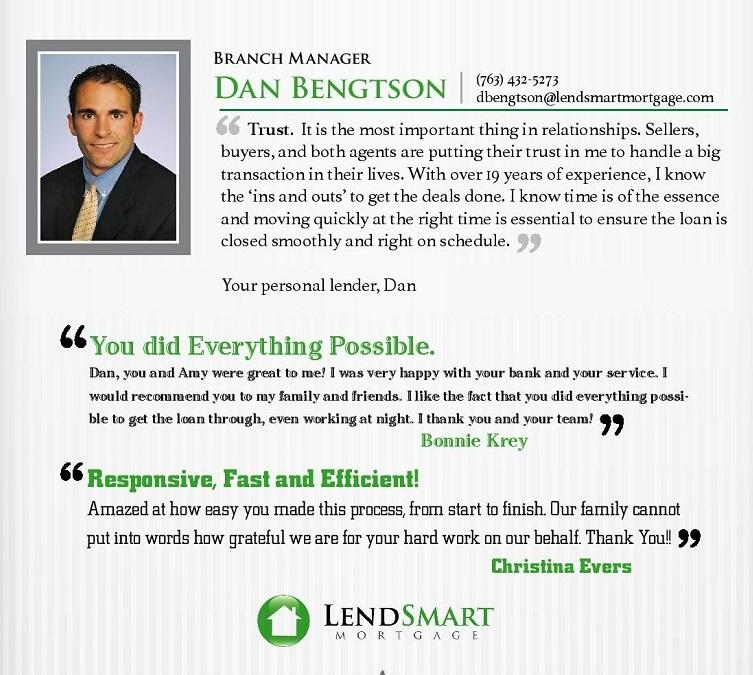 Dan Bengtson, LendSmart Mortgage LLC