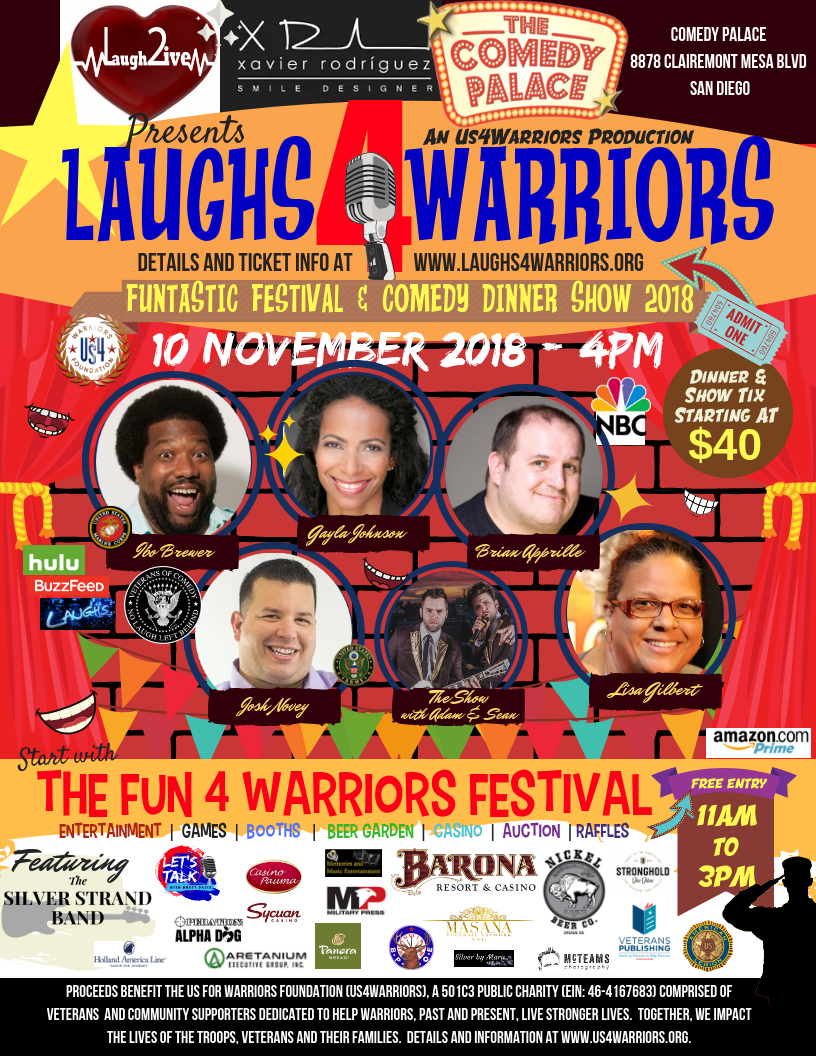 Laughs4Warriors 2018