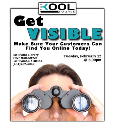 Get Visible! Atlanta Internet Marketing Workshop