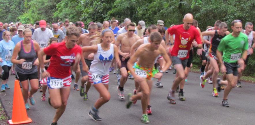 Runners at Wakulla Springs