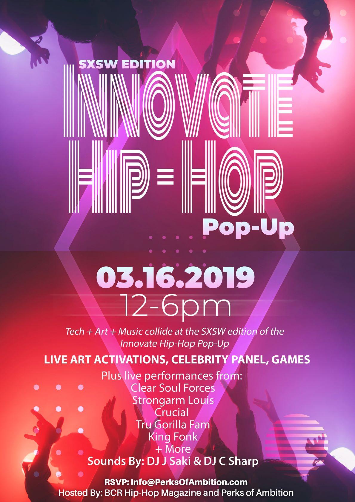 SXSW Innovate Hip-Hop