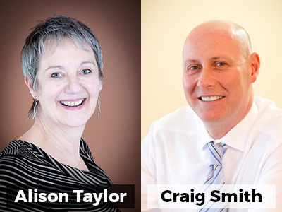 Alison Taylor & Craig Smith