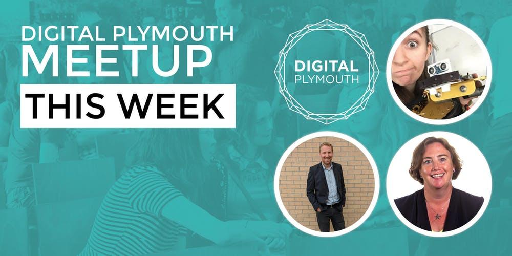 Speakers for Digital Plymouth September 2018