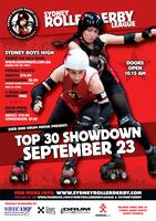 Sydney Roller Derby Top 30 Showdown!!