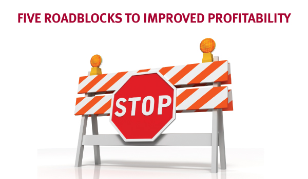 Five Roadblocks to Improved Profitability