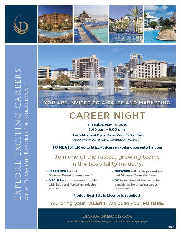 Orlando Career Night May 2013