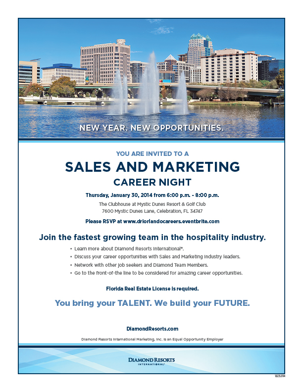 New Year New Opportunities-Orlando Career Night