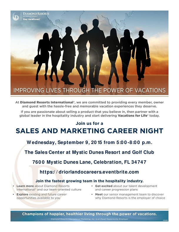 Orlando Career Night  @ MDR-Sept 2015