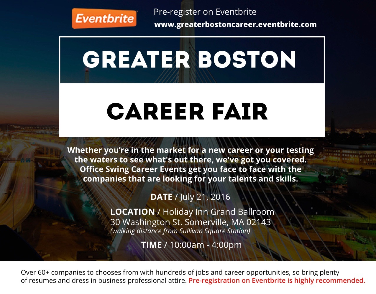 greater boston career fair thursday 21 2016 10 00am to 4 description