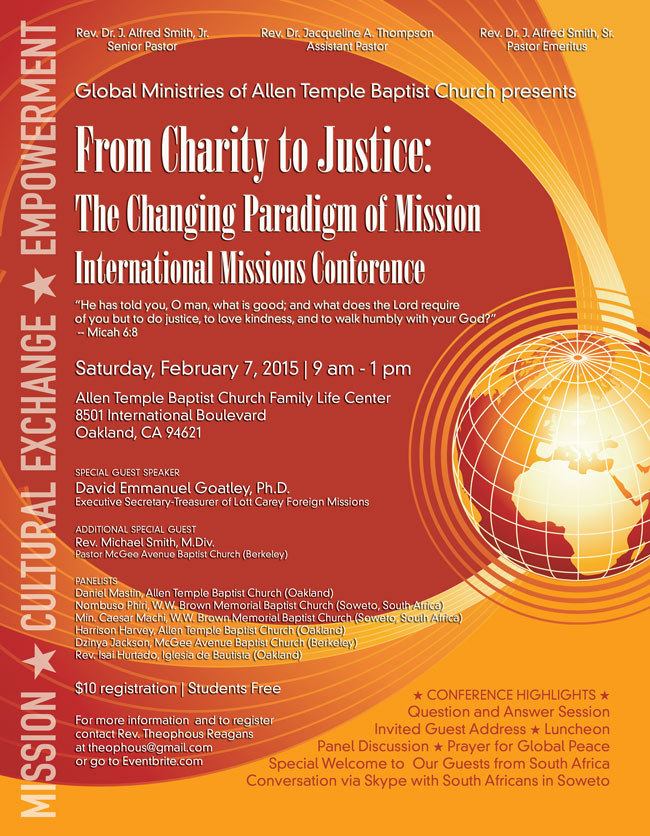 From Charity To Justice 2015