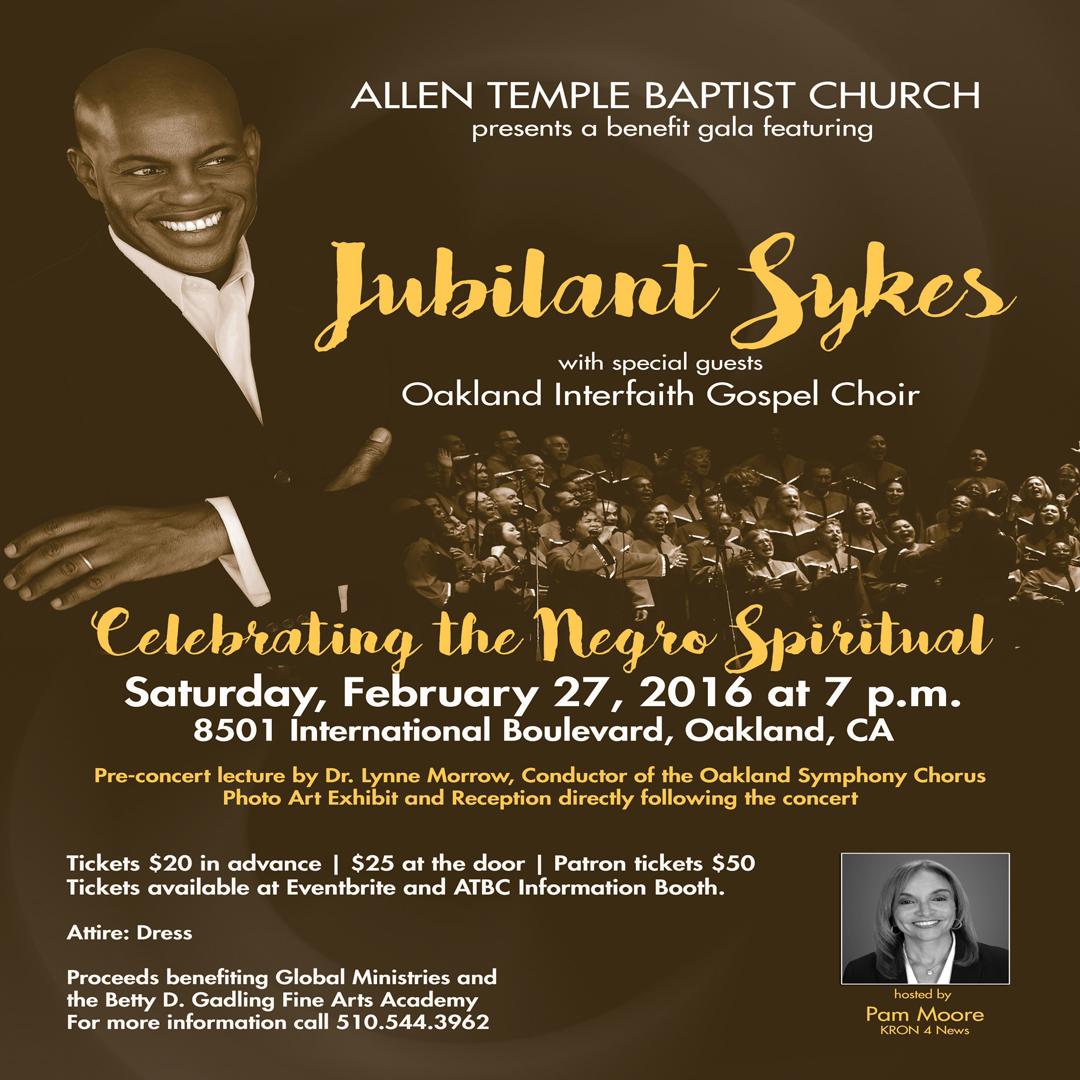 Jubilant Sykes Oakland Interfaith Gospel Choir