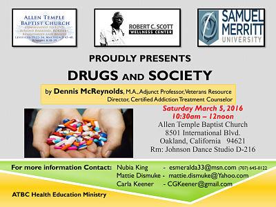 ATBC Health Education Drugs Society Symposium Mar 16
