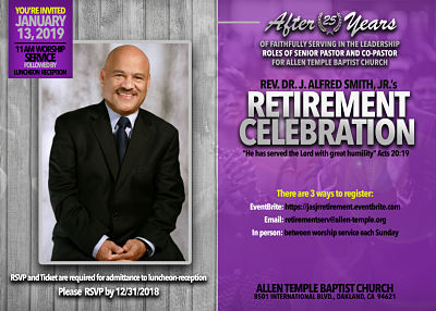 JASJR Retirement Celebration