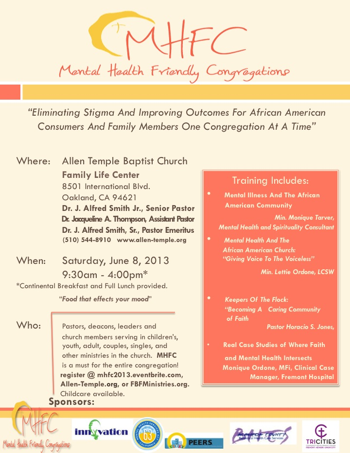 Mental Health Friendly Congregations
