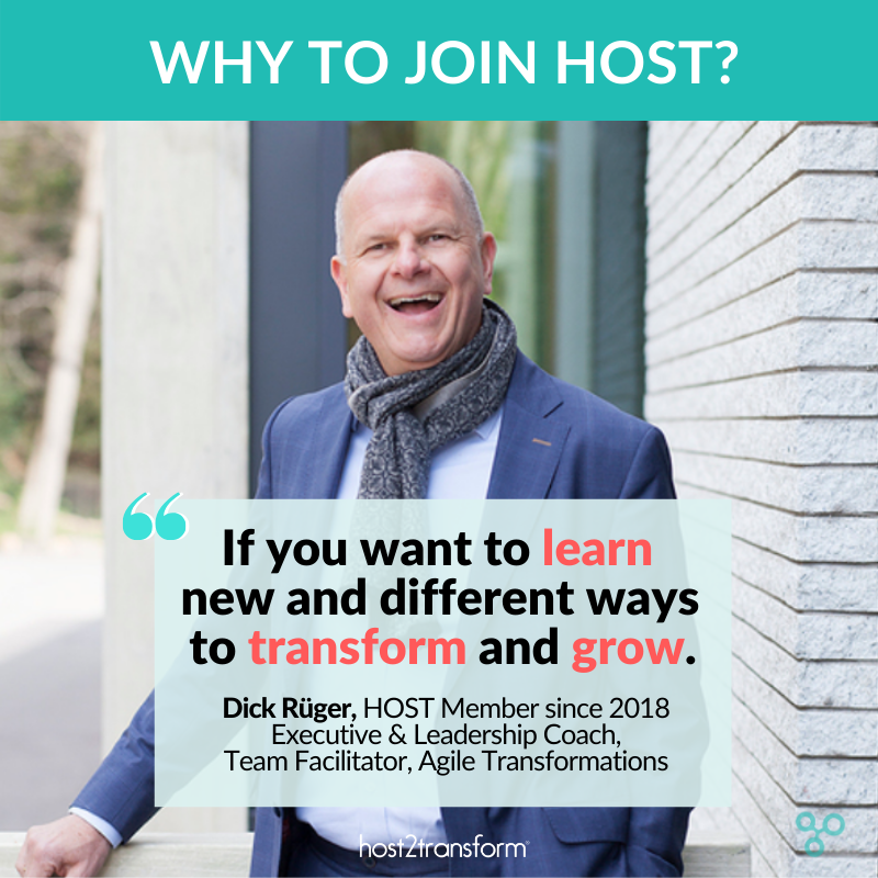 HOST2Transform - Human-centered leadership Development