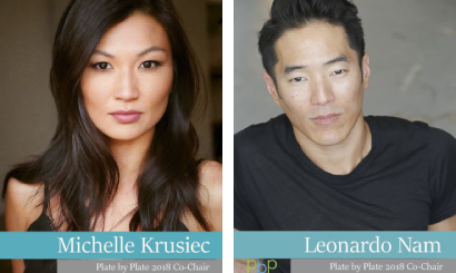 Michelle Krusiec & Leonardo Nam