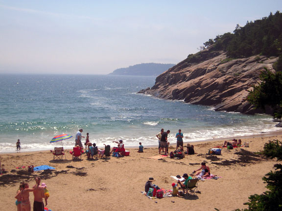 Ever been to a New England beach? What a treat!