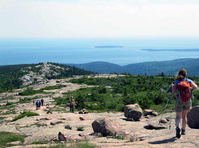 Gorgeous hikes with views where you can see forever