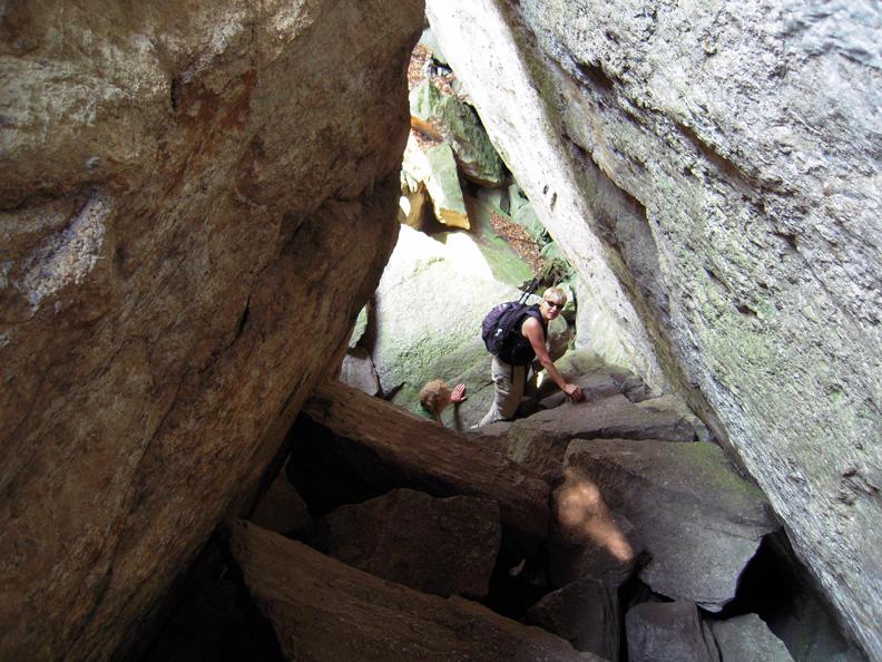 Rock Scrambling in Mohonk