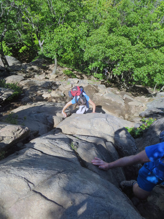 Breakneck rock scramble with Powermastery