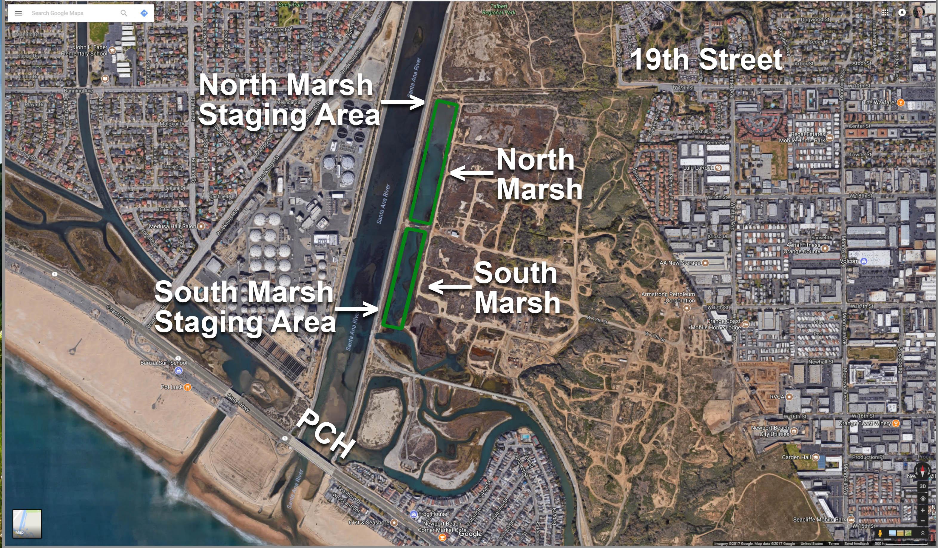 SAR Marsh map