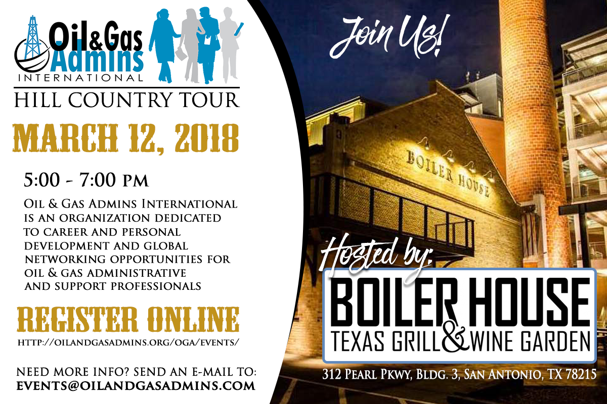 O Amp Ga Hill Country Tour At Boiler House Texas Grill Amp Wine
