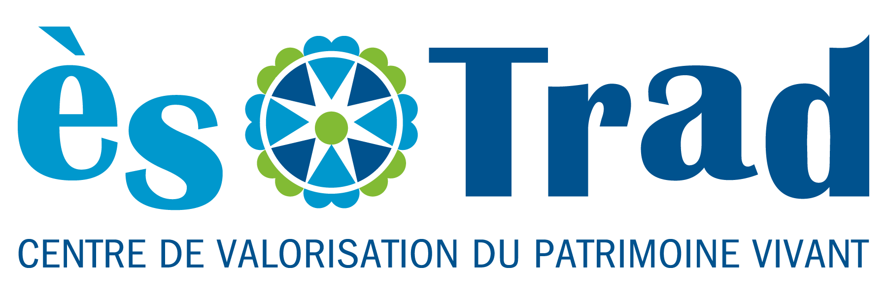 Logo Ès Trad- Centre de valorisation du patrimoine vivant