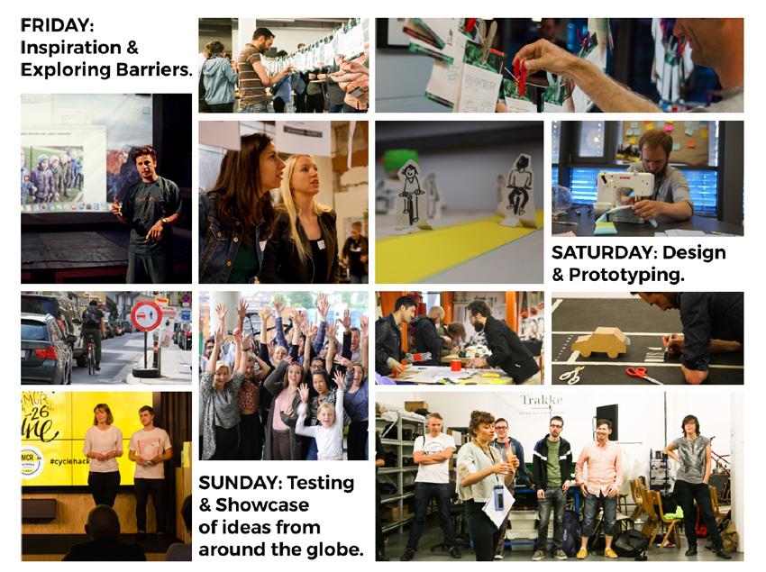 CycleHack Rome 2017 - 48 ore di prototipazione per una mobilità sostenibile