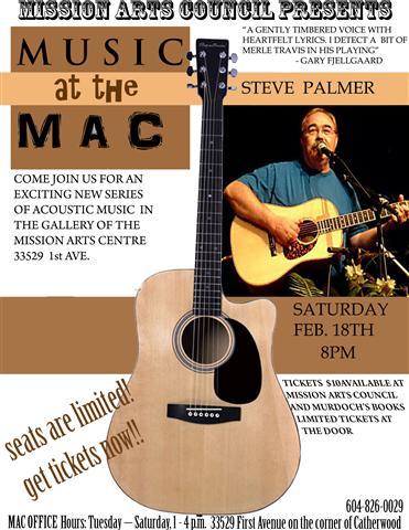 Steve Palmer | Music at the MAC