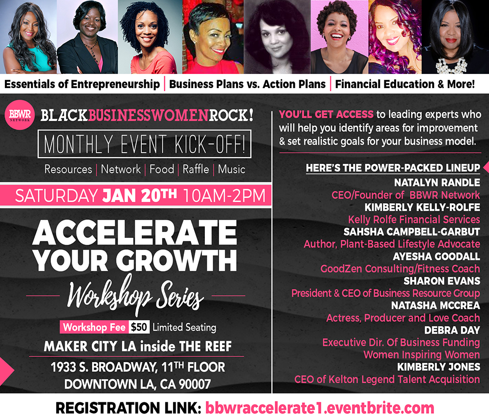 Bbwr Accelerate Your Growth Series Workshop 1 Tickets